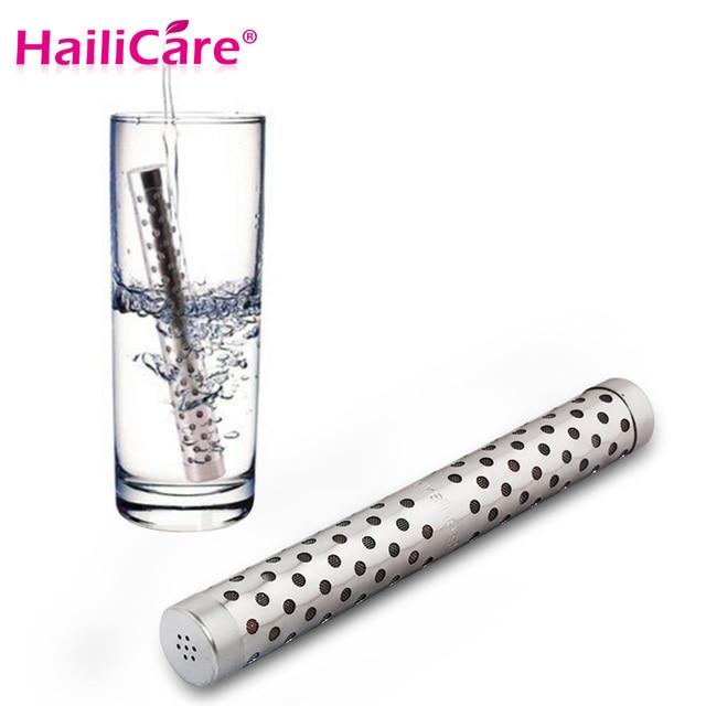 Щелочной воды stick PH водорода отрицательных ионов ионизатор минералов палочка здоровья очиститель воды очистки фильтра путешествия Размеры