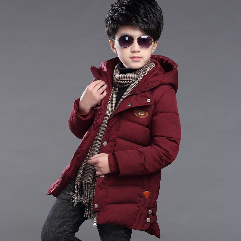 2018 Winter Children Jacket&Coat For Boys New Arrivals Fashion Hooded Outwear Kids Down Coat Padded-Cotton Boy Clothes Outwears new 2018 children winter jacket for boys fashion fur hooded thick cotton padded boy long coat parka kid clothes outwears