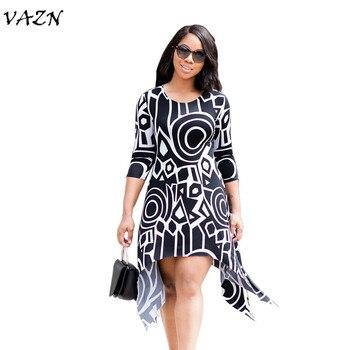 30c5f5820c6 Product Offer. VAZN 2018 Новое поступление известный бренд Повседневное  женское платье ...