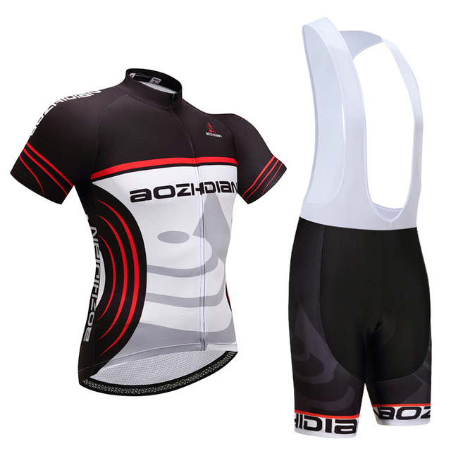 New Arrival Stretch Summer Cycling Jersey Strap Bib Shorts Kit Breathable  Ropa Ciclismo Cycling Clothing for Men Women WKH00006 bf9b54552