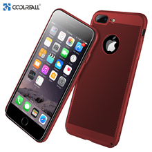 ФОТО coolreall for iphone case x 8 7 6s 6 plus cases luxury ultra slim phone case for iphone x case hard pc back heat dissipation