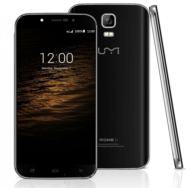 UMI ROMA X 5.5 pulgadas de Pantalla IPS Android 5.1 Smartphone MT6580 Quad-core 1.3 GHz RAM 1 GB ROM 8 GB 2500 mAh Dual SIM WCDMA