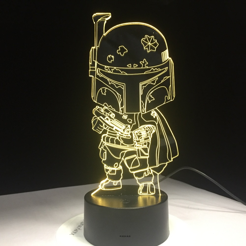 Cartoon Darth Vader Cute Character Star War 3D Night Light for Children Baby Kid Toy Touch 7 Color Light Bedroom Table Lamp GiftCartoon Darth Vader Cute Character Star War 3D Night Light for Children Baby Kid Toy Touch 7 Color Light Bedroom Table Lamp Gift