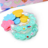 2016 Top Selling New Design Cute Lovely Style Infant Baby Teether Silicone Round Training Toys For