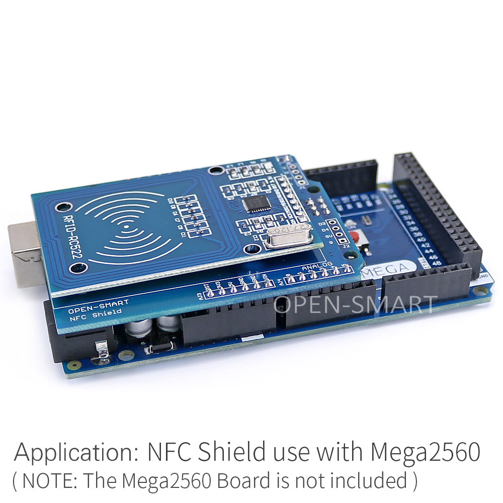 NFC Shield RFID RC522 Module RF IC-kaartsensor + S50 RFID Smart Card - Industriële computers en accessoires - Foto 5