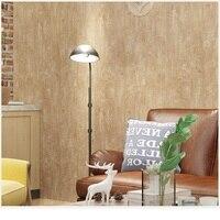 3D Wallpapers Vintage Simple Style Surface Stripe Nonwoven wall paper Wallpaper papel de parede decoration tapete 53x1000cm