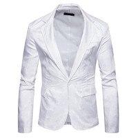 Fashion flower suit jacket men's party casual blazer Dropshipping and Wholesale Men Blazers