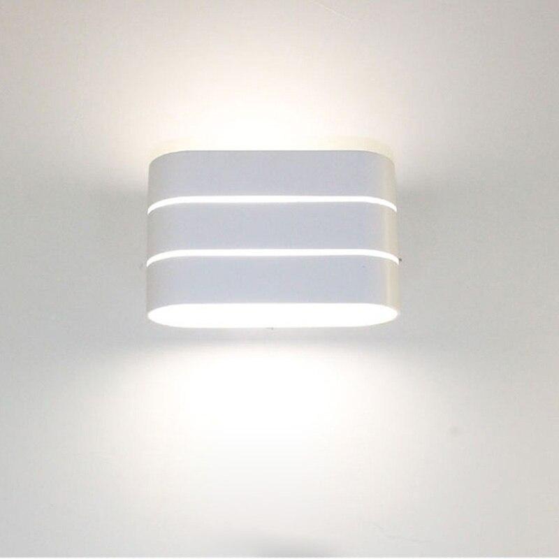 Светодиодный настенный светильник с регулируемой яркостью, 5 Вт, 10 Вт, AC110V, 220 В, настенный светильник, декоративный светильник для гостиной,