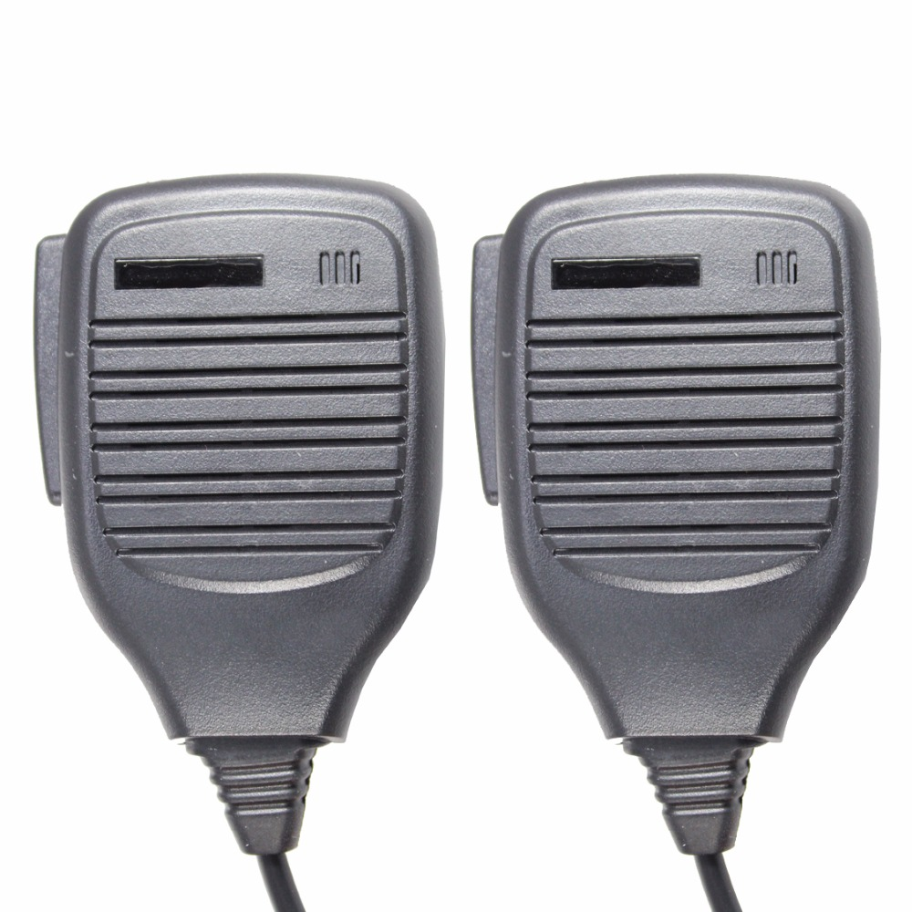 2pcs PMMN4021 Remote Speaker Microphone For GP640 GP680 HT750 HT1250 GP328 GP338 GP340 PRO5150 MTX8250 MTX950 MTX9250 PR860