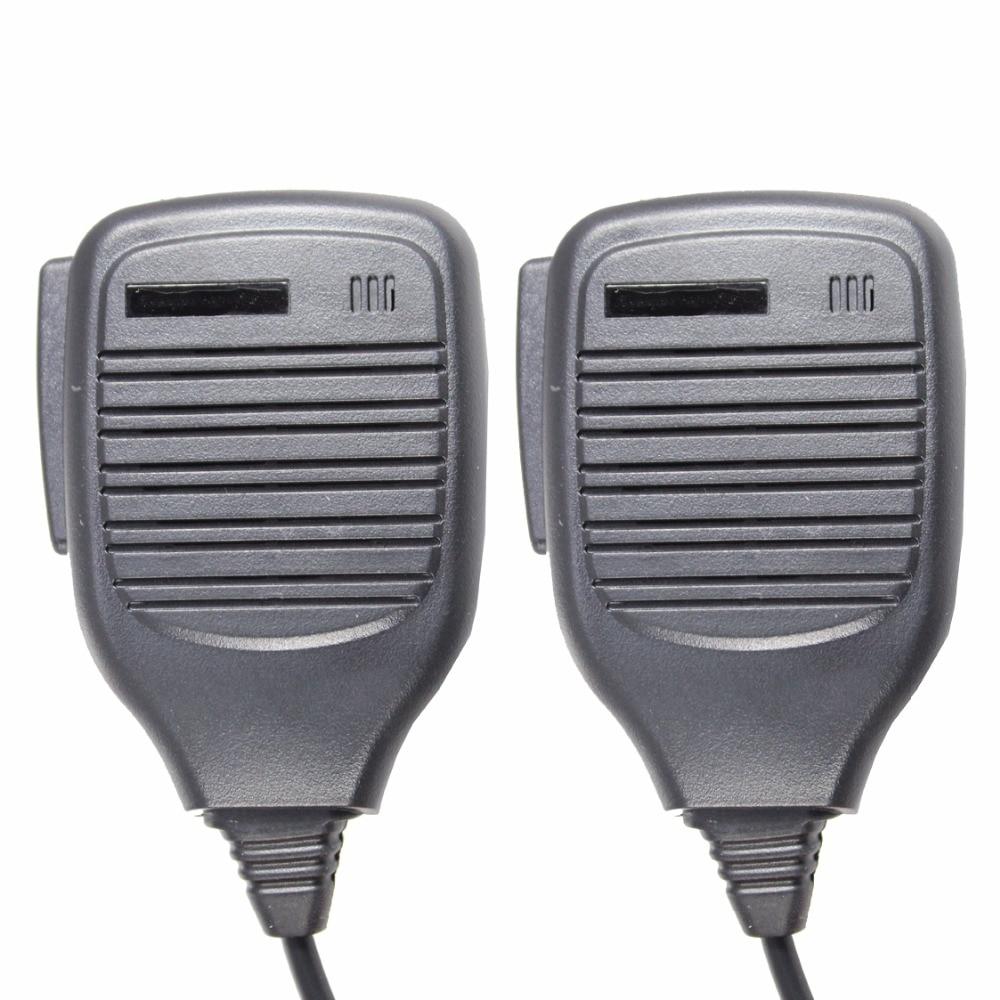 2pcs PMMN4021 Remote Speaker Microphone For GP640 GP680 HT750 HT1250 GP328 GP338 GP340 PRO5150 MTX8250 MTX950 MTX9250 PR860