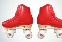 2016 New arrival Wholesale Price 4 Wheel Speed Roller Skates Shoes