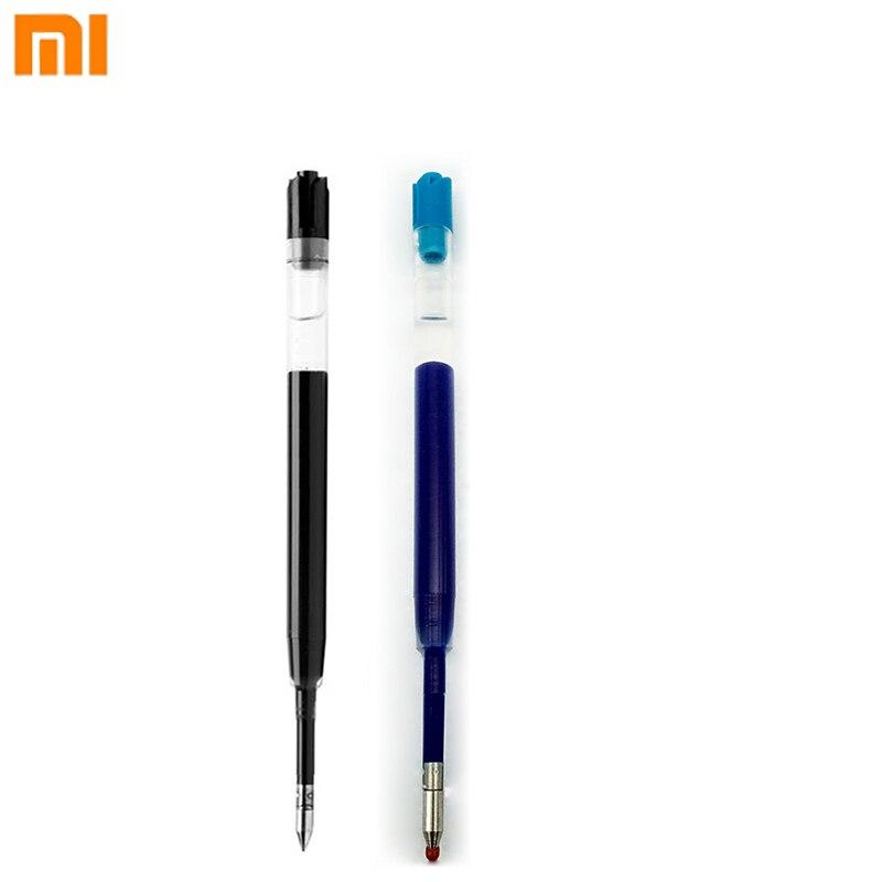 0,5mm Schwarz Blau Farbe Tinten Refill Für Neue Version Xiaomi Metall Stifte Ersatz Für Gold Silber Farbe Mijia Stift Krankheiten Zu Verhindern Und Zu Heilen
