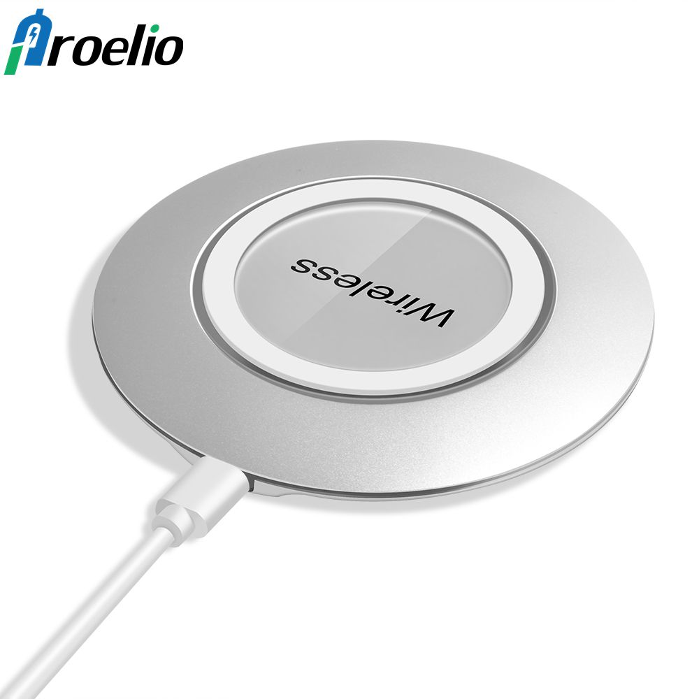 Wireless Charger For iPhone X iPhone 8 Plus Qi Fast Wireless Charging Pad For Samsung Galaxy S8/S7 Edge /S7//Note 8 Xiaomi Mi 6