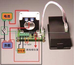 Image 2 - 0 500A قاعة Coulomb متر متعدد LCD تيار مستمر ثنائي الاتجاه الجهد الحالي قدرة الطاقة الوقت رصد البطارية تهمة التفريغ