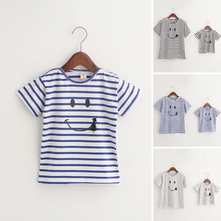 Household Matching Outfits,child and mother t shirt ,woman Striped t-shirts coat,Mom and child Baby garments,Women Clothes household matching, household matching outfits, matching outfits,Low-cost household matching,Excessive High quality household matching...