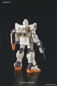 Image 3 - Bandai Gundam HGUC 1/144 RGM 79 [G] GM Boden Typ Mobile Anzug Montieren Modell Kits Action figuren Kunststoff Modell