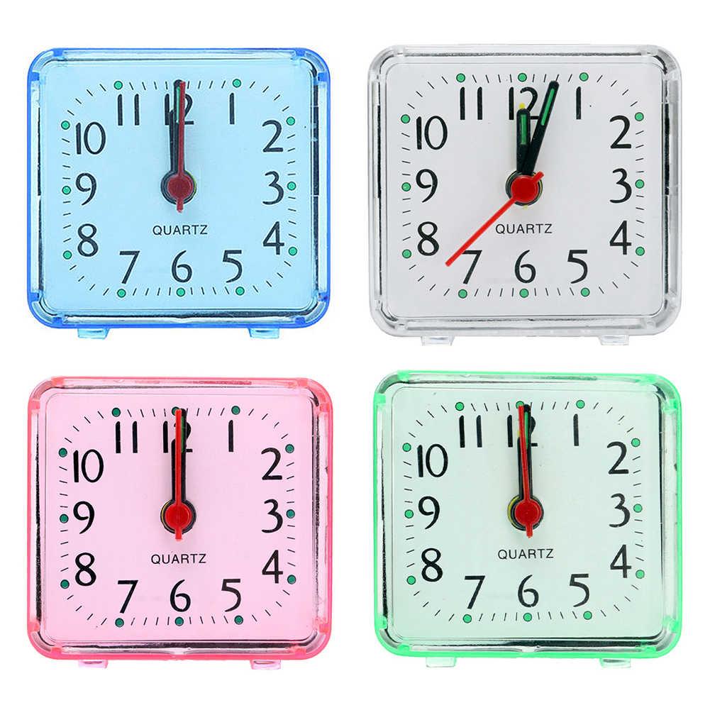 1PCS Kleine Nette Wecker Kreative Mode Student Uhren Schlafzimmer Nacht Büro Eectronic Digitaler Wecker Nadel