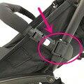 Cochecito de bebé apoyabrazos yoya yoya parachoques Conjunto adaptador de accesorios Del Carro de Bebé para Cochecito De Plástico Negro