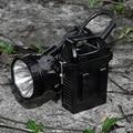 5pcs/lot 5W T6 lithium battery LED headlamp Miners Lamp waterproof cap LED lamp headlight for fishing hunting camping