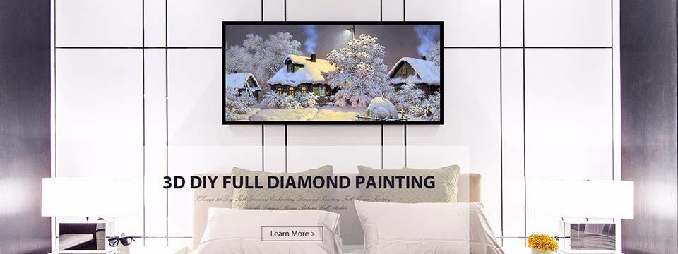 FLINTSTONES 5D Diy diamond painting  full drill 50 X 40 CM