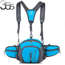 Free Shipping 1=4Bags?!  More Color Choice Waterproof Multi-function Nylon Waist Backpack Bag