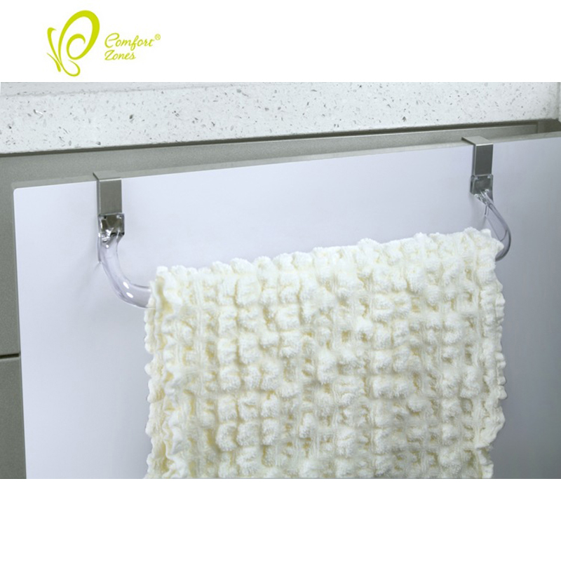 Kitchen Organizer Towel Rack Hanging Holder Bathroom Cabinet Cupboard Hanger Shelf For Kitchen Bathroom Accessories High Quality