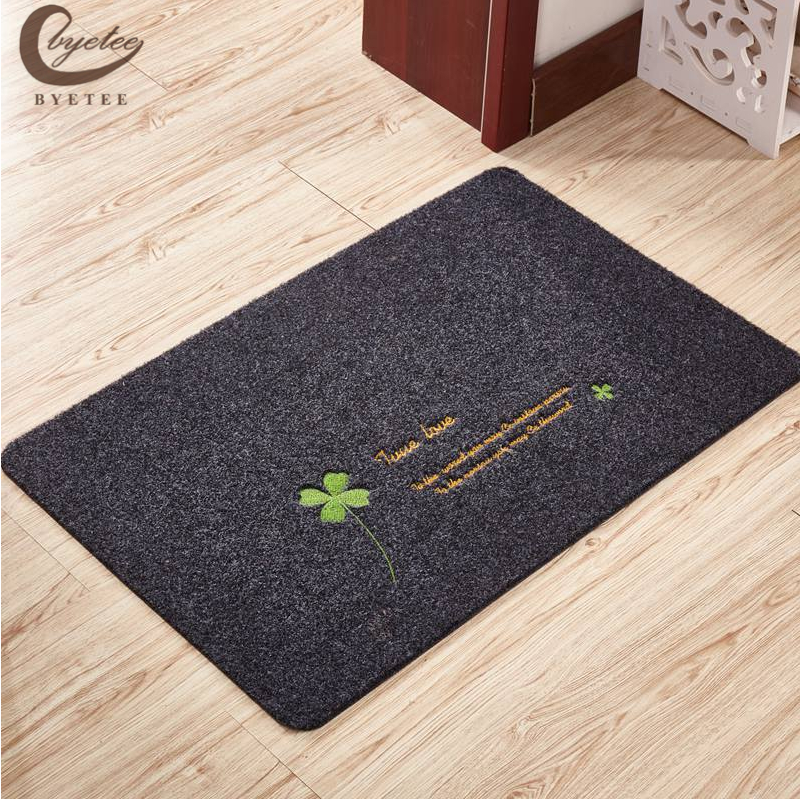 byetee Cartoon Floor Mats Fashion Carpet Toilet water absorption non-slip rug Porch doormat Kitchen Rugs ...