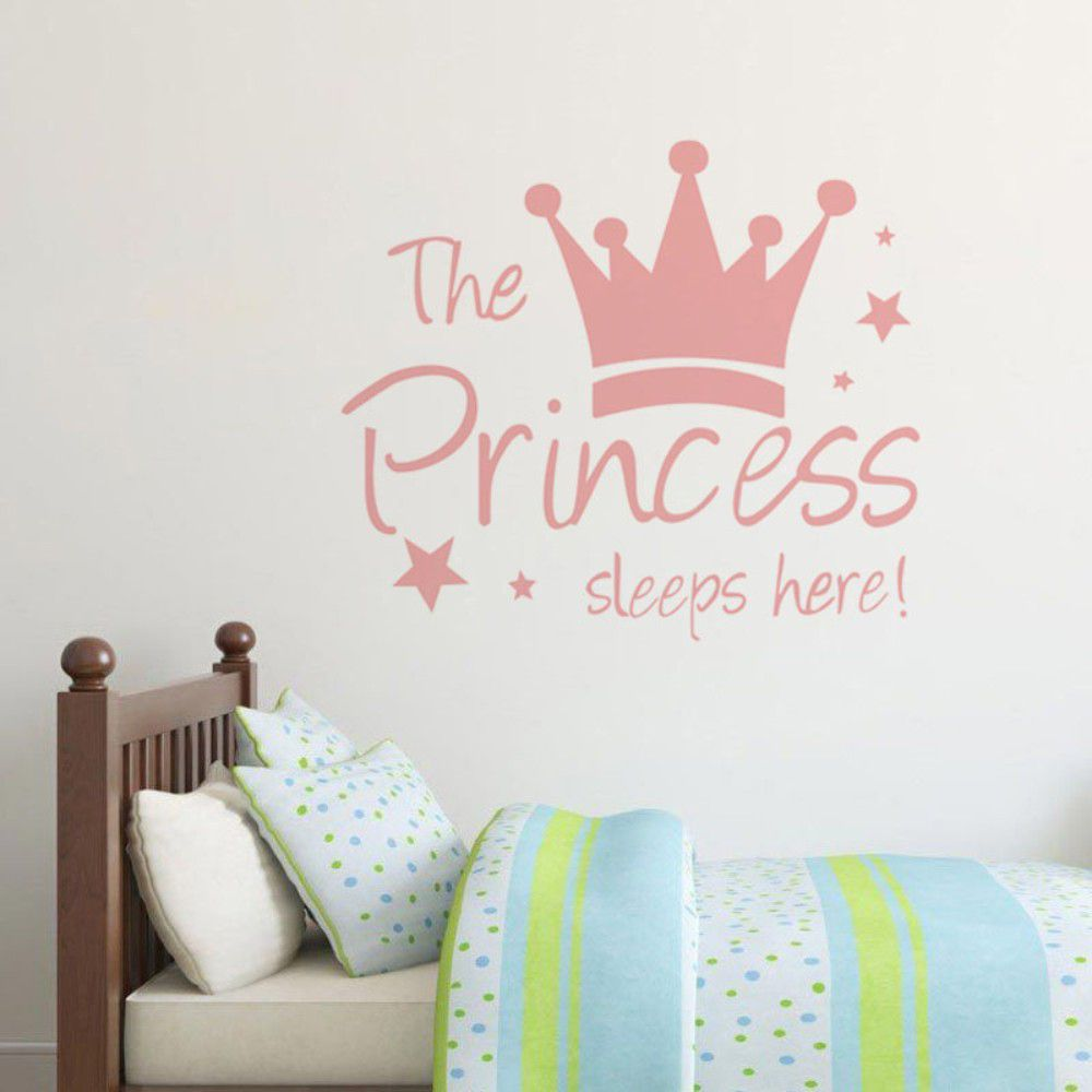 1 Pcs Cute Quot The Princess Sleep Here Quot Character Crown