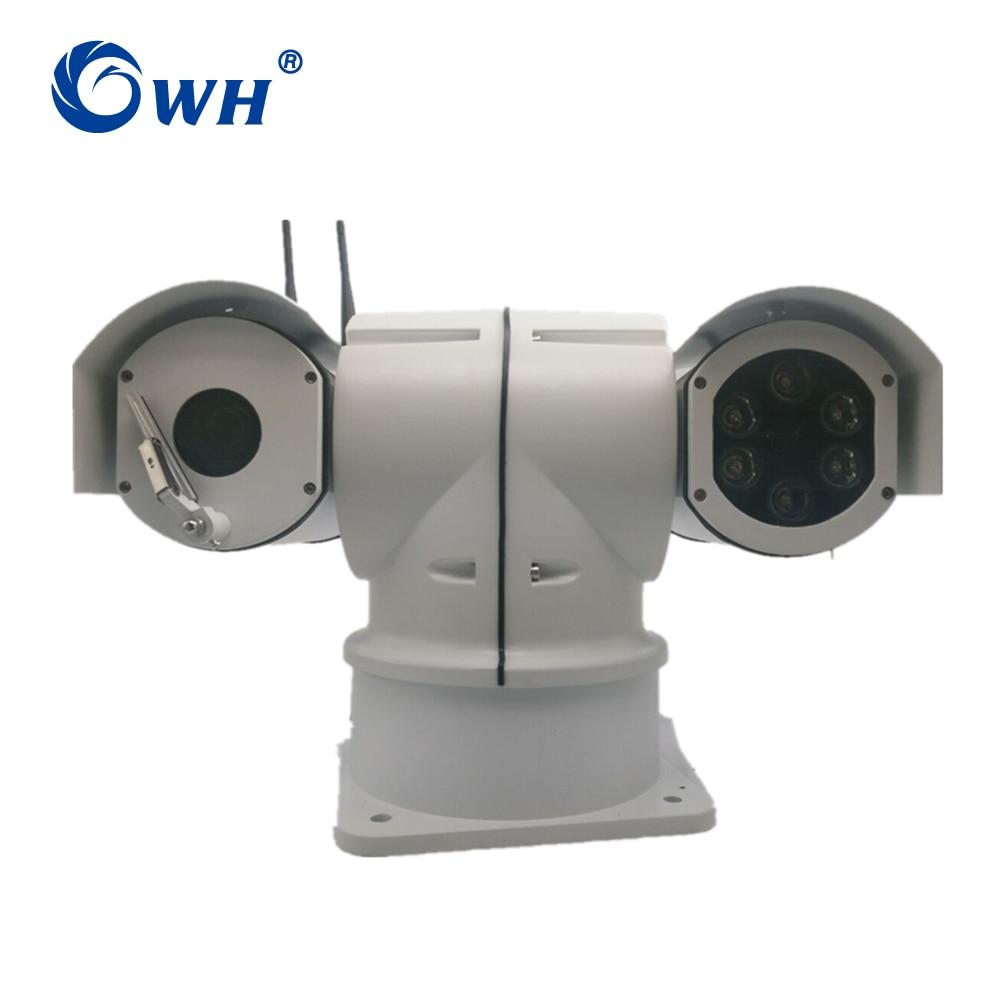 CWH G5D 4G caméra WiFi sans fil voiture caméra Surveillance de sécurité CCTV véhicule caméra avec fente pour carte SIM et Max 128G SD carte Slot