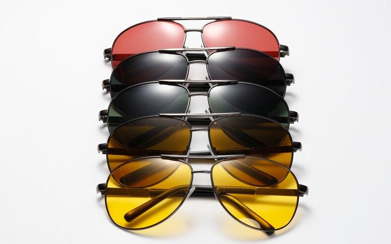 Óculos de sol polarizado unissex, óculos de