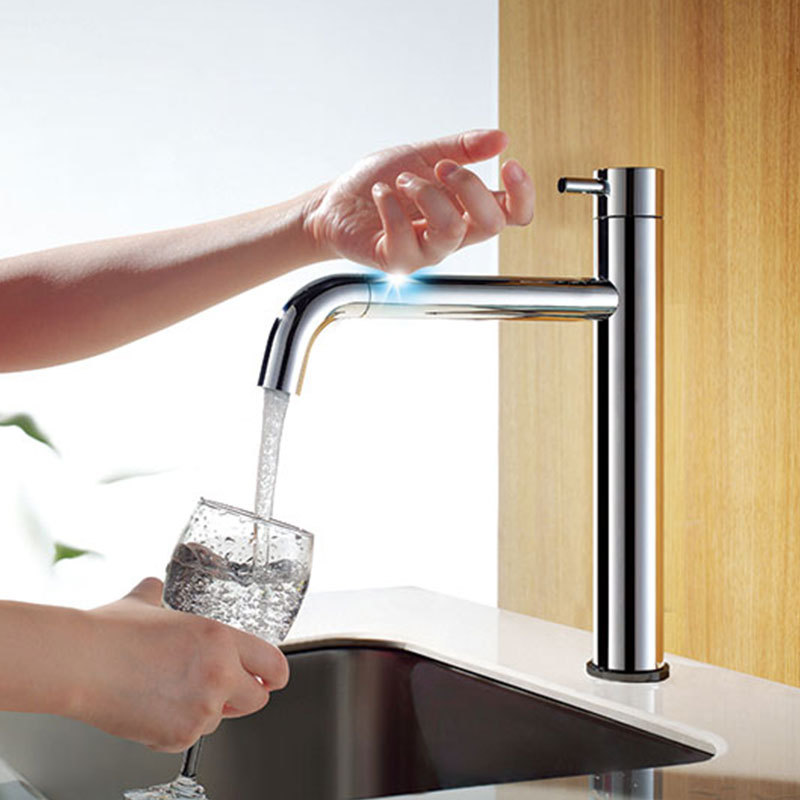 touch sensitive kitchen faucet 2015 smart intelligent touch sensitive kitchen sink mixer 22387