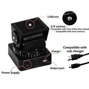 Image 5 - Zifon 전동 원격 제어 팬 틸트 헤드 YT 260 (삼각대 장착 어댑터 포함) 익스트림 카메라 Wifi 카메라 및 스마트 폰용