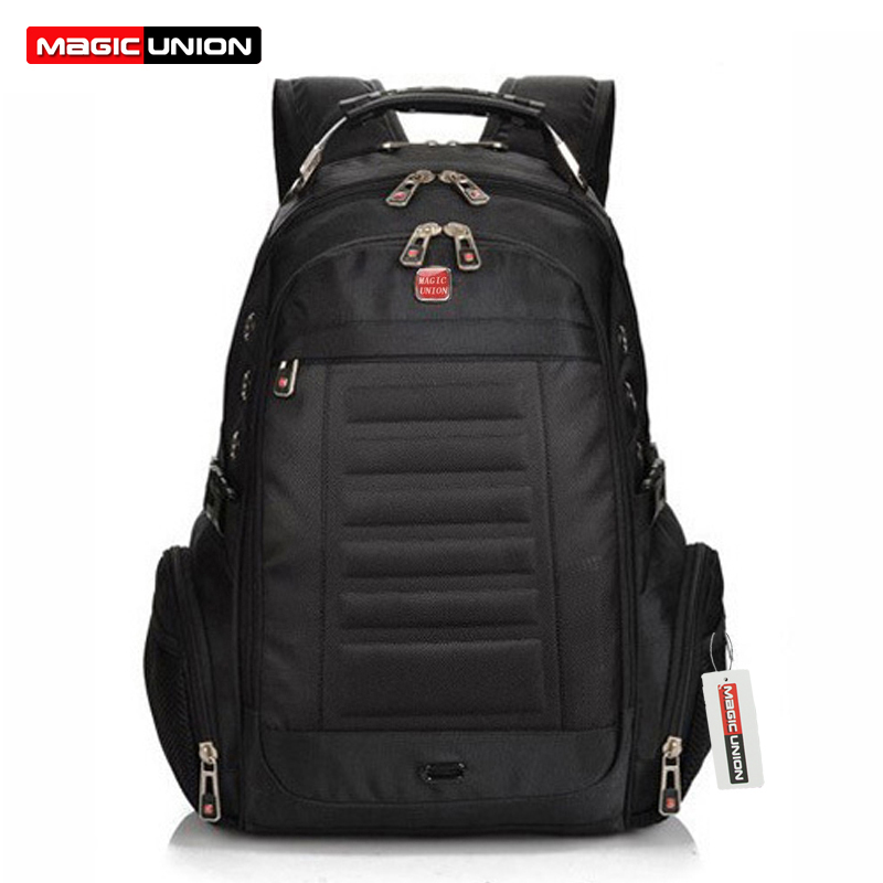 ФОТО MAGIC UNION Fashion Man Backpack Brand Design Men's Travel Bag Polyester Bag Men Computer Packsack men Backpacks Wholesale