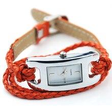 New! Scorching Gross sales Common Artistic Girls Womens Allure Quartz Multi Layer Woven Bracelet Watch NO181 5UZ9