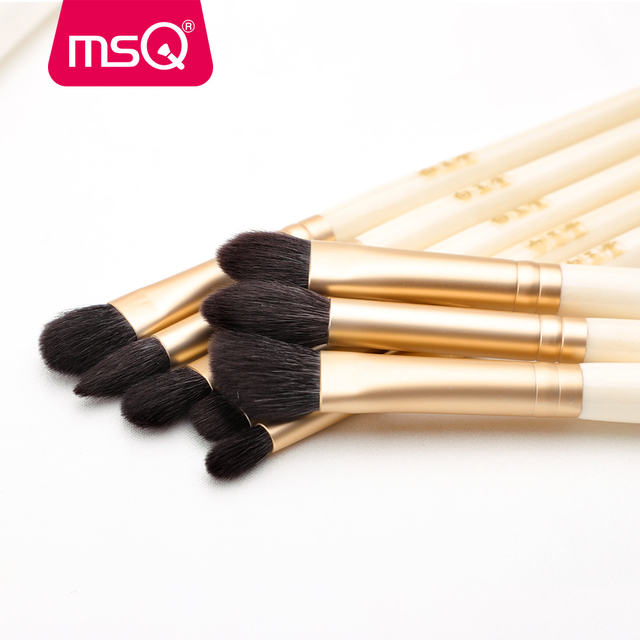 MSQ Single Eyes Makeup Brushes Set Eyeshadow Professional Concealer Blending Lip Beauty Make Up Brush Tools Goat Hose Hair 4