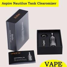 ต้นฉบับAspire Nautilusมินิ2มิลลิลิตรBVCถังบุหรี่อิเล็กทรอนิกส์เครื่องฉีดน้ำ/Clearomizer/Vaporizerการควบคุมการไหลของอากาศ