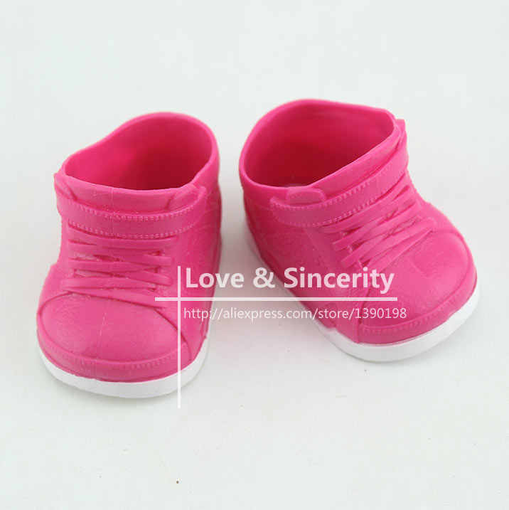 Nieuwe Sandaal Plastic Schoenen Voor 43 Cm Babypoppen 17 Inch Geboren Poppen Schoenen