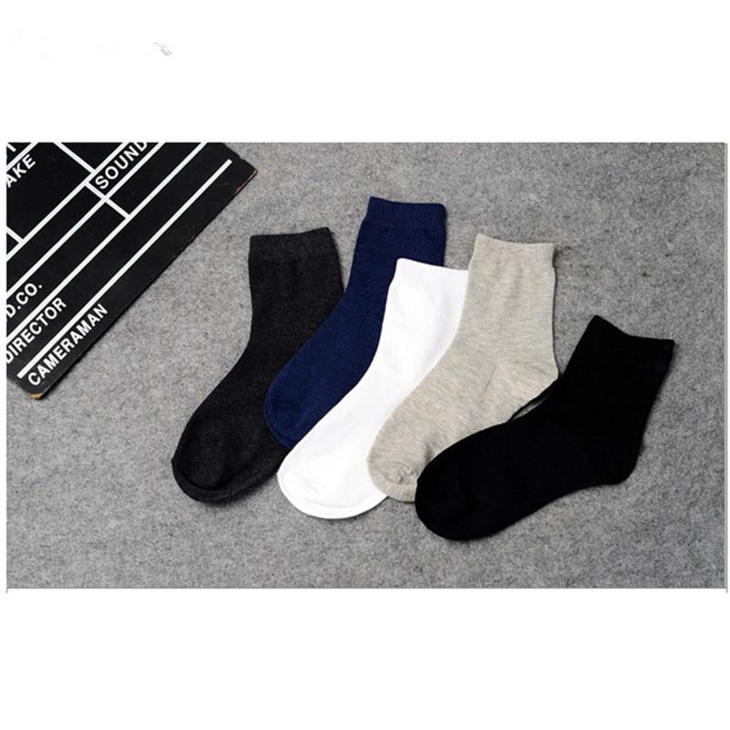 Kaus kaki katun Kualitas Tinggi Kasual Bernapas Man Kaus Kaki Panjang - Pakaian dalam - Foto 2