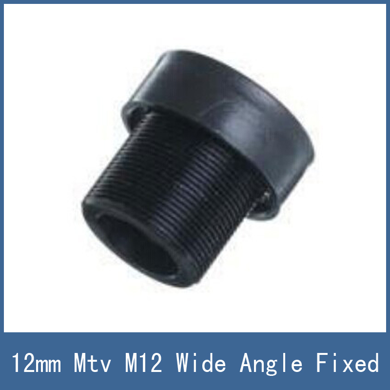 Hot-selling Wide Angle Fixed Lense Surveillance Web Cam CCTV Camera Lens , 12mm MTV M12 Mount Free Shipping 38mm cylinder piston kit fits stihl fs120 fs200 fs250 bt120 bt121 ht250 trimmer 4134 020 1212