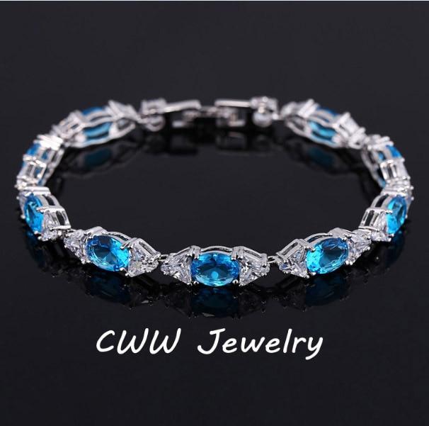 6d9372a9e2a4 Cwwzircons diseño hermoso CZ cristal pulsera de moda cubic zirconia  pulseras Brazaletes para las mujeres Accesorios cb121
