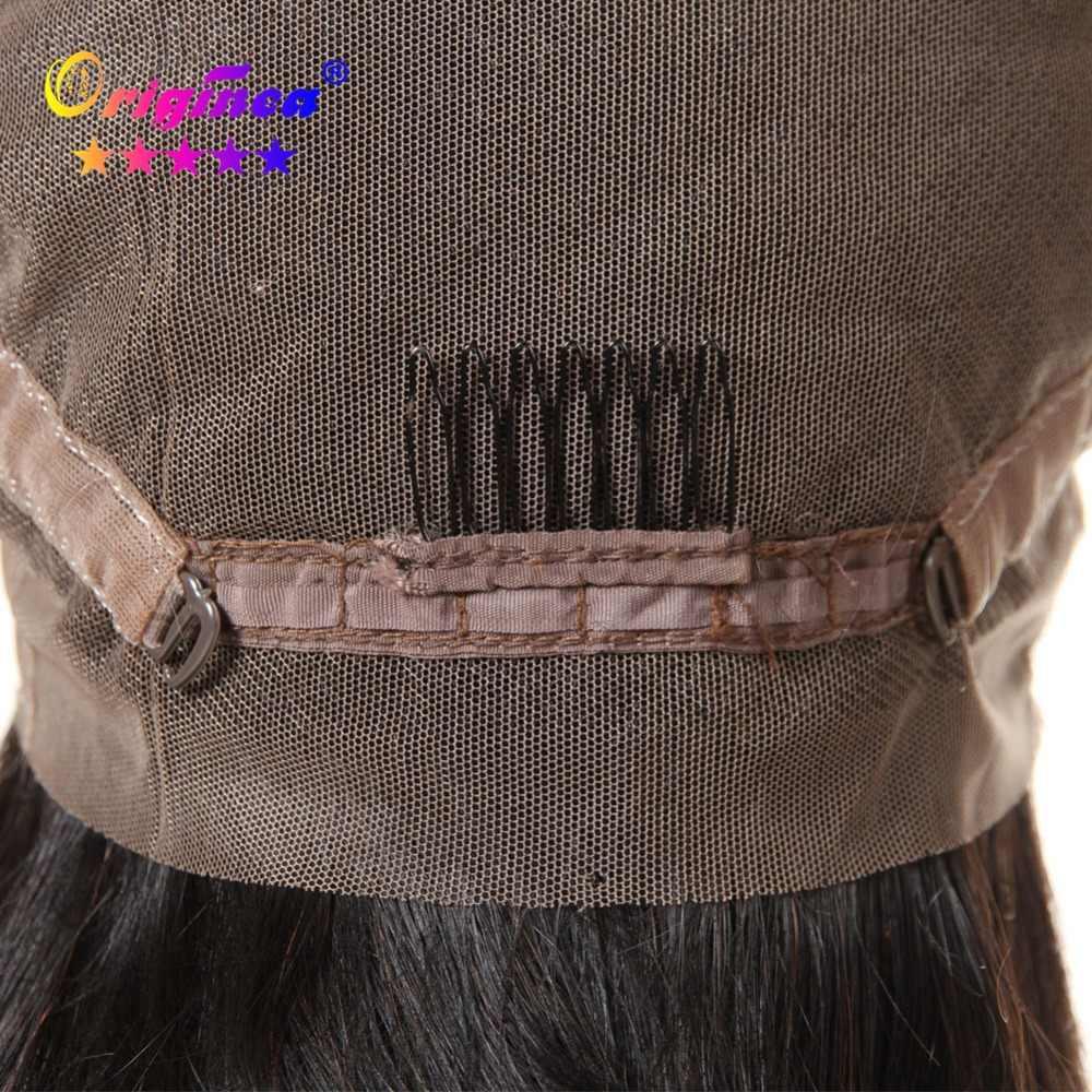 Оригинальные волнистые человеческие парики для женщин, бразильские волосы remy, Безглютеновые, полностью кружевные парики с волосами для детей, натуральные черные