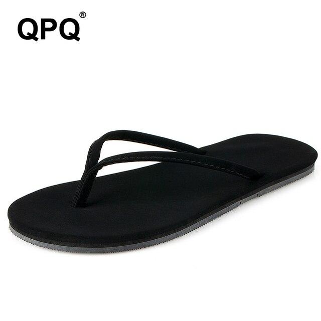 2017 New Women Summer Beach Flip Flops Lady Slippers Fashion Light Woman Flat  Heel Casual Brand