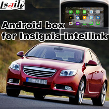Android GPS navigation box for Opel Vauxhall Insignia etc intellink CUE system video interface with cast