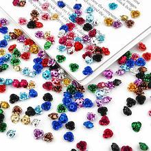 Flash-Accessories Charming Flower Rose-Blend Rhinestone Jewelry-Design Gems Decorative-Gel