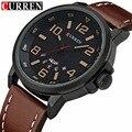 Curren mens relógios top marca de luxo homens esportes relógios moda casual relógio de quartzo homens militar relógio de pulso masculino relogio 8240