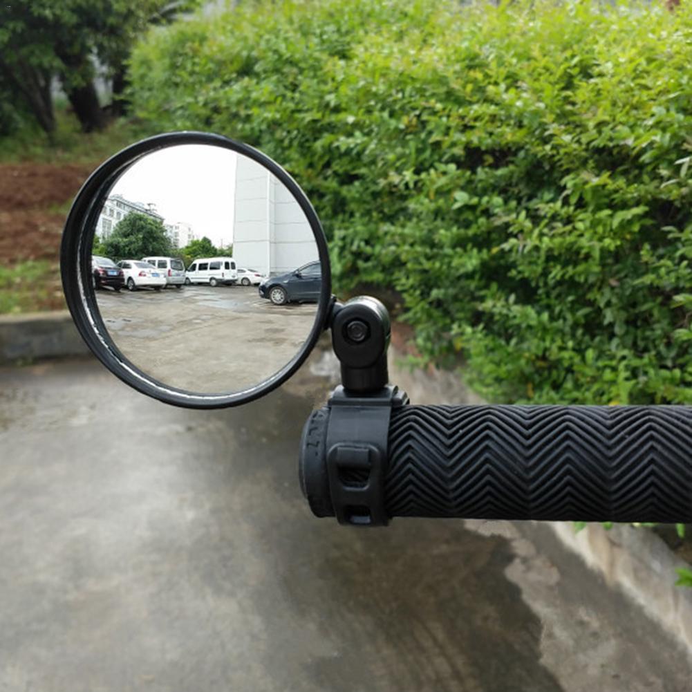 Rétroviseurs arrière de vélo 360 degrés Rotation rétroviseurs de vélo adapté pour vélo de route de montagne vtt guidon 15mm-35mm