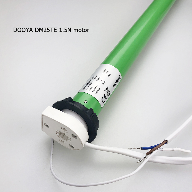 Dooya tubular motor DM25TE 0 7n 1 5n work with wifi Alexa 433MHZ 100V 240V fit