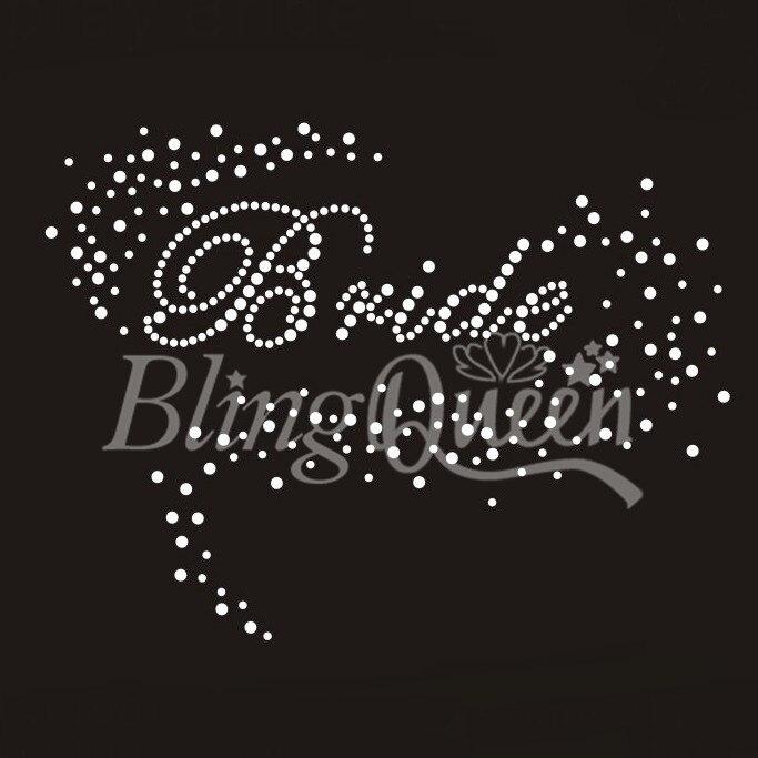 Buy rhinestone hot fix design bride and get free shipping on AliExpress.com 587620490456