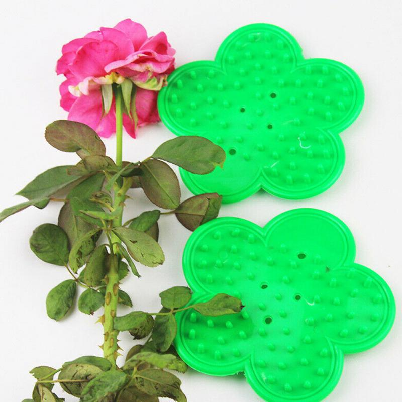 1 Pcs Plastic DIY Cut Tool Florist Flower Rose Thorn Stem Leaf Stripper Rose Removing Burrs Eco-friendly Garden Tool