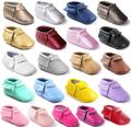 Fashion PU leather Tassel baby Shoes Handmade High Quality Baby First Walkers Moccasin baby shoes Mocs shoes